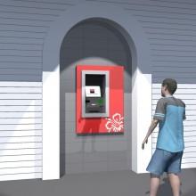 Façades des DAB Banque de Polynésie